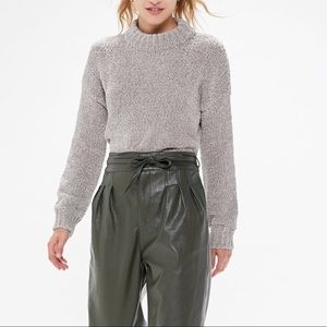 Urban Outfitters Milo Chenille Mock Neck Sweater